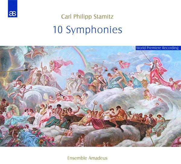 CD STAMITZ, C.P. - 10 SYMPHONIES