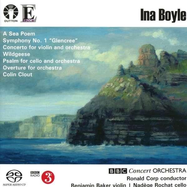 CD BOYLE, INA - A SEA POEM / SYMPHONY NO.1 GLENCREE