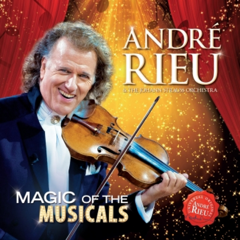 CD RIEU ANDRE - MAGIC OF THE MUSICALS