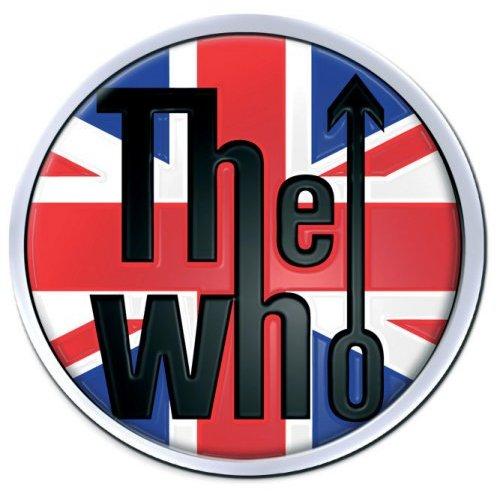 The Who - Odznak Union Jack