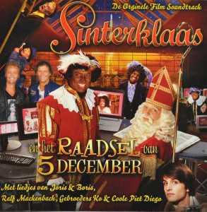 CD V/A - SINTERKLAAS EN HET RAADSEL VAN 5 DECEMBER