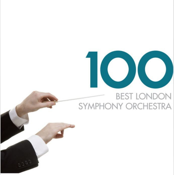 CD VARIOUS ARTISTS - 100 BEST LONDON SYMHONY ORCHESTRA
