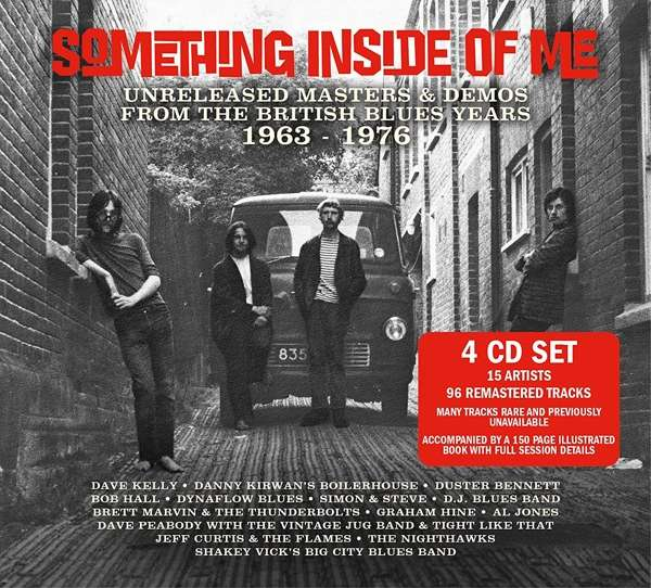 CD V/A - SOMETHING INSIDE OF ME: UNRELEASED MASTERS & DEMOS OF BRITISH BLUES YEARS '63-'76