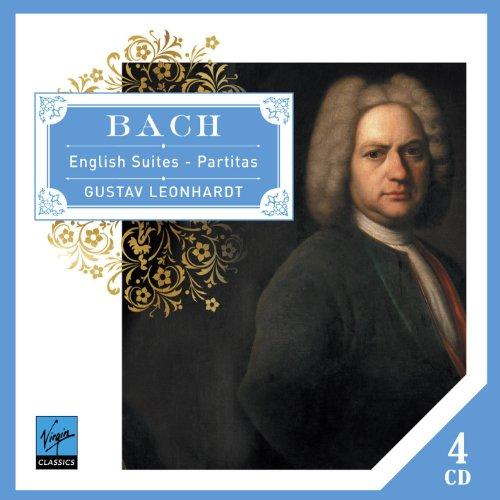 CD BACH, J.S. - ENGLISH SUITES-PARTITAS -LTD-