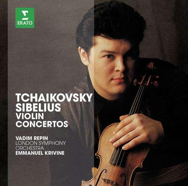 CD REPIN, VADIM - THE ERATO STORY. TCHAIKOVSKY - SIBELIUS : VIOLIN CONCERTOS