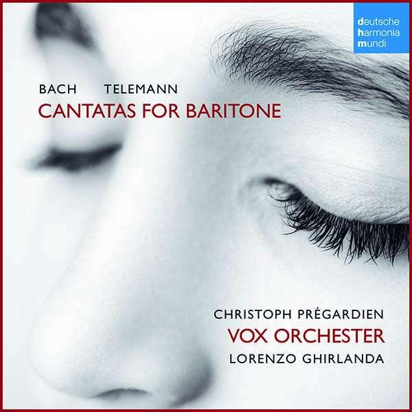 CD BACH/TELEMANN - Bach/Telemann: Cantatas for Ba