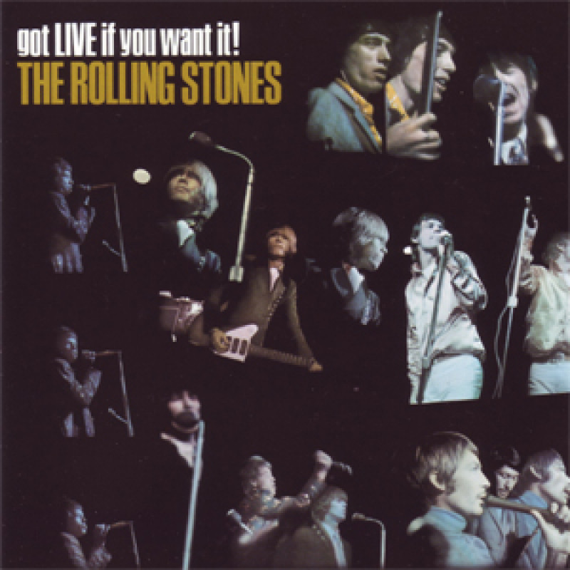 Rolling Stones - CD GOT LIVE IF YOU WANT IT