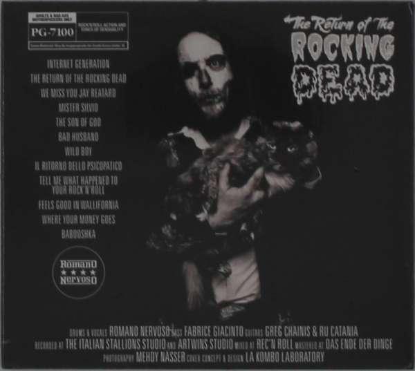 CD ROMANO NERVOSO - RETURN OF THE ROCKING DEAD