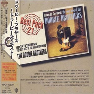 CD DOOBIE BROTHERS - VERY BEST OF - LISTEN TO THE MUSIC