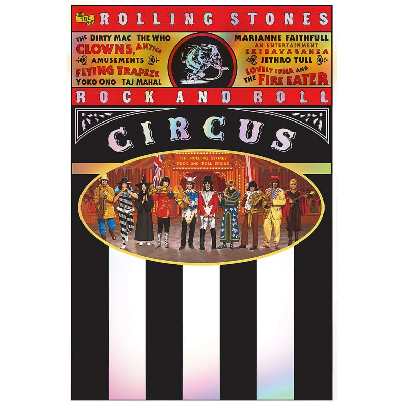DVD RUZNI/POP INTL - THE ROLLING STONES ROCK AND ROLL CIRCUS