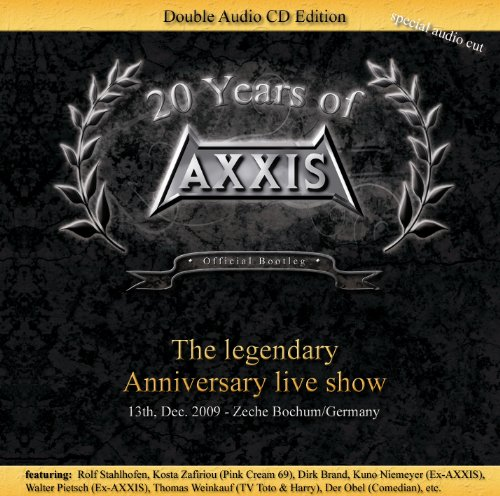 CD AXXIS - 20 YEARS OF AXXIS