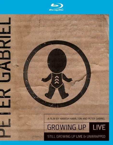 Blu-ray GABRIEL PETER - GROWING UP LIVE &../CD