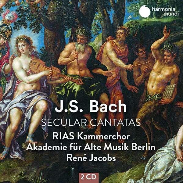 CD RIAS KAMMERCHOR / RENE JACOBS - BACH: SECULAR CANTATAS