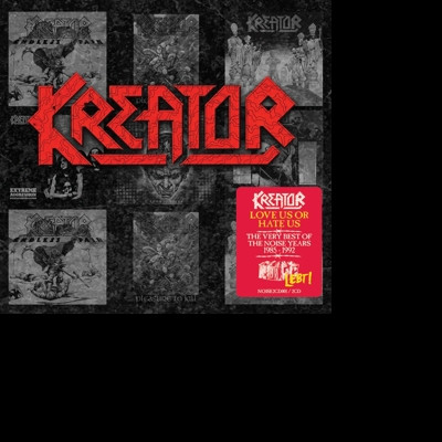 Kreator - CD LOVE US OR HATE US: THE VERY BEST OF THE NOISE YEARS 1985-1992