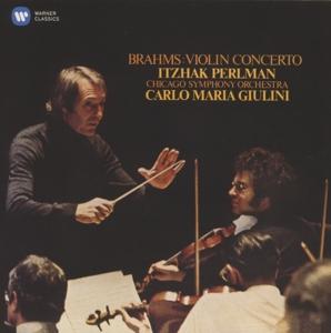 CD PERLMAN, ITZHAK/CSO/CARLO MARIA GIULINI - BRAHMS: VIOLIN CONCERTO IN D MAJOR, OP. 77
