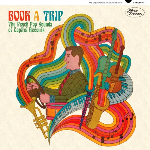 CD V/A - BOOK A TRIP - THE PSYCH POP SOUNDS OF CAPITOL RECORDS