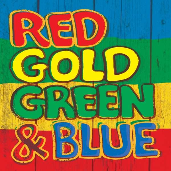 CD VARIOUS ARTISTS - RED GOLD GREEN & BLUE