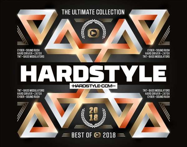 CD V/A - HARDSTYLE THE ULTIMATE COLLECTION - BEST OF 2018