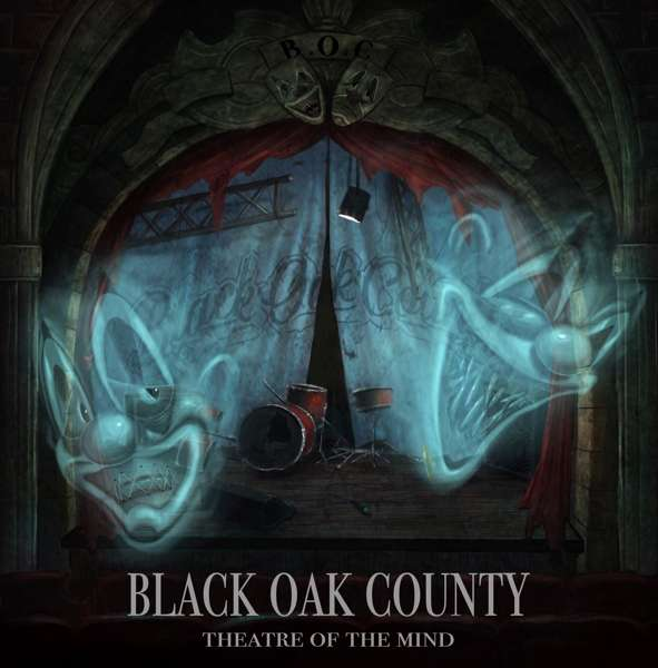 CD BLACK OAK COUNTY - THEATRE OF THE MIND