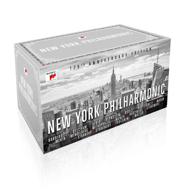 CD NEW YORK PHILHARMONIC ORC - New York Philharmonic - 175th