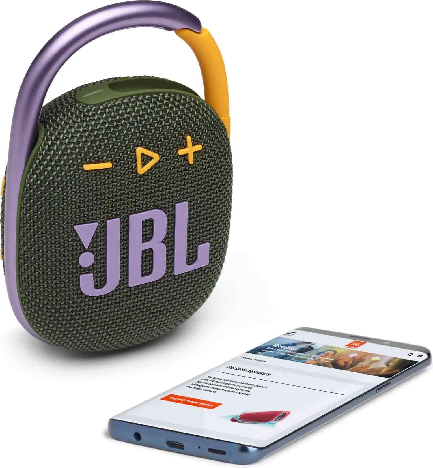 Reproduktor JBL Clip 4 Green