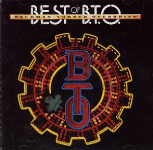 CD BACHMANN TURNER OVERDRIVE - THE BEST OF BTO