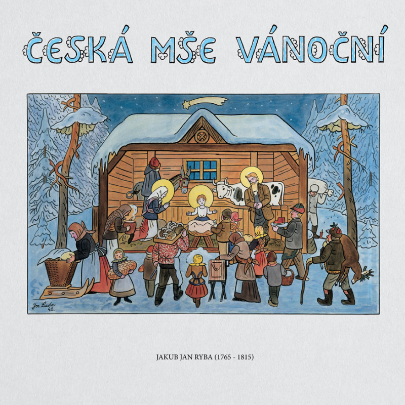 Vinyl KOZENA/HUGO/CAPELLA REGIA - CESKA MSE VANOCNI