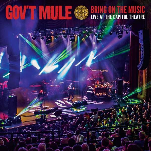 CD GOV'T MULE - BRING ON THE MUSIC