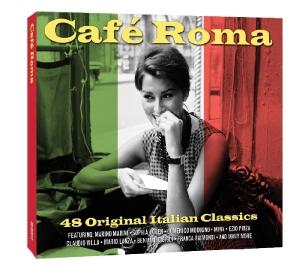 CD V/A - CAFE ROMA