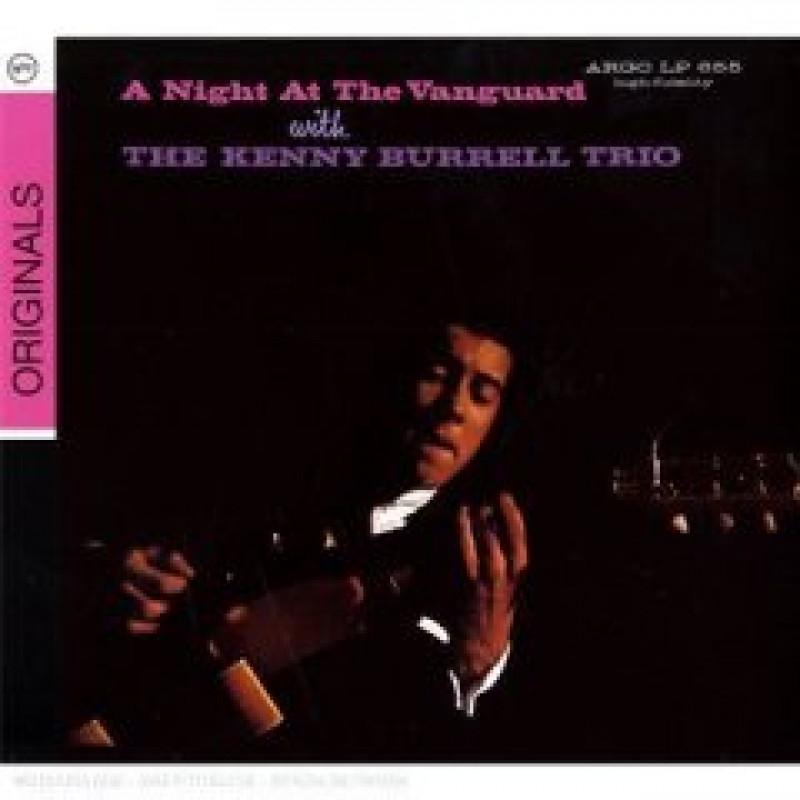 CD BURRELL KENNY - A NIGHT AT THE VANGUARD