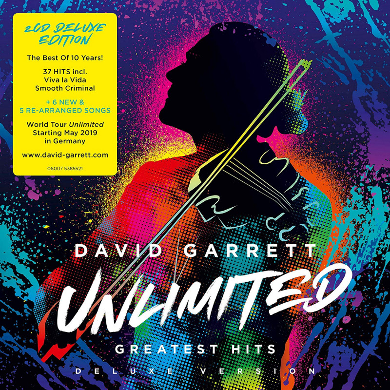CD GARRETT DAVID - UNLIMITED-GREATEST HITS