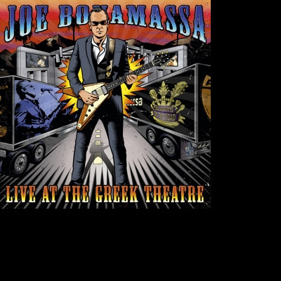 CD BONAMASSA, JOE - LIVE AT THE GREEK THEATRE