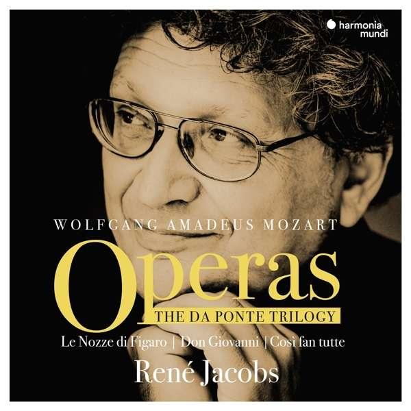 CD MOZART, W.A. - DA PONTE TRILOGY OPERAS