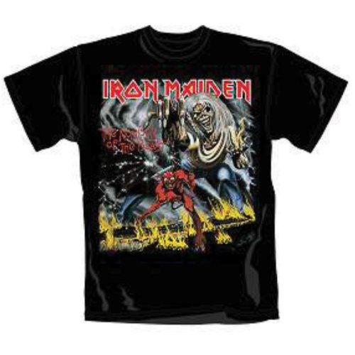Iron Maiden - Tričko Number of the Beast - Muž, Unisex, Čierna, M