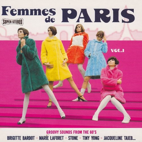 CD V/A - FEMMES DE PARIS VOL.1
