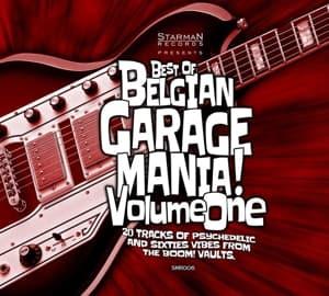 CD V/A - BEST OF BELGIAN GARAGE MANIA VOLUME 1