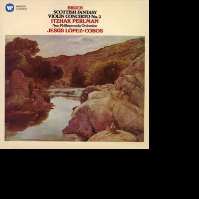CD PERLMAN, ITZHAK/NPO/JESUS LOPEZ COBOS - BRUCH: SCOTTISH FANTASY; VIOLIN CONCERTO NO. 2