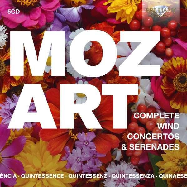 CD MOZART, W.A. - COMPLETE WIND CONCERTOS & SERENADES