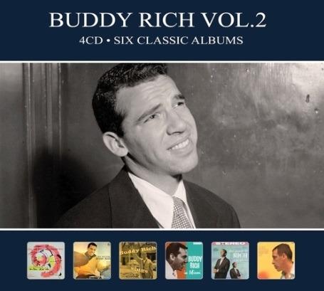 CD RICH, BUDDY - SIX CLASSIC ALBUMS VOL.2