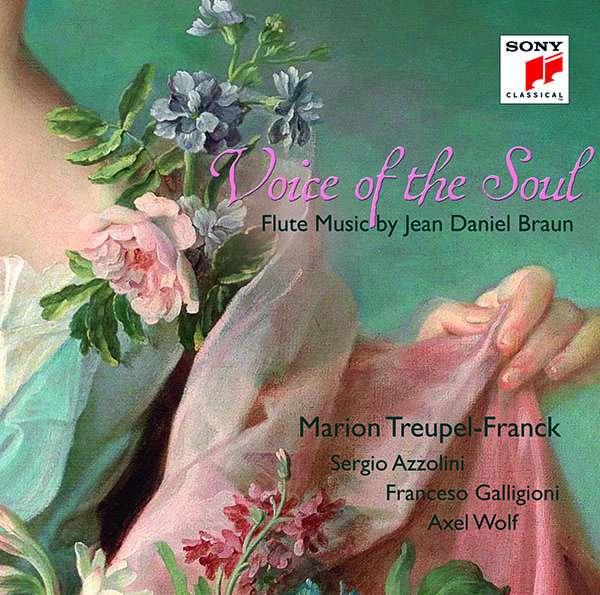 CD Treupel-Franck, Marion - Voice of the Soul - Flute Music