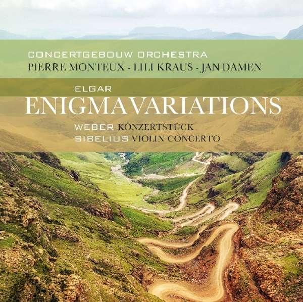 CD ELGAR/WEBER/SIBELIUS - ENIGMA VARIATIONS/VIOLIN CONCERTO