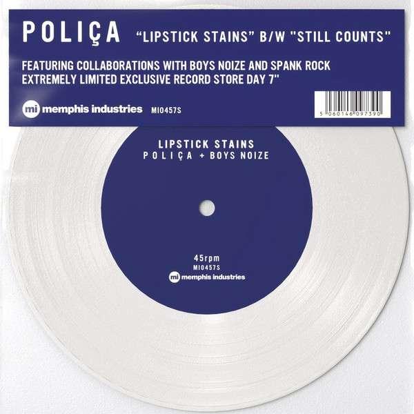 Vinyl POLICA - 7-LIPSTICK STAINS/STILL COUNTS AA