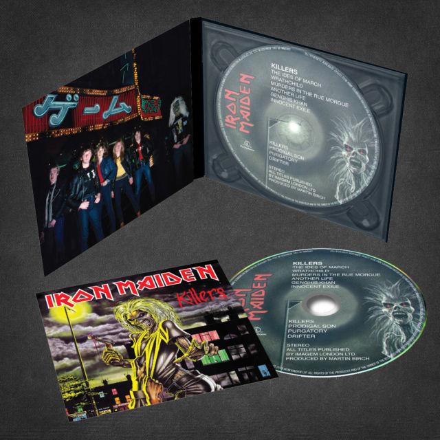 Iron Maiden - CD KILLERS