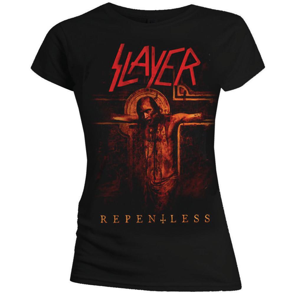 Slayer - Tričko Repentless Crucifix - Žena, Čierna, L