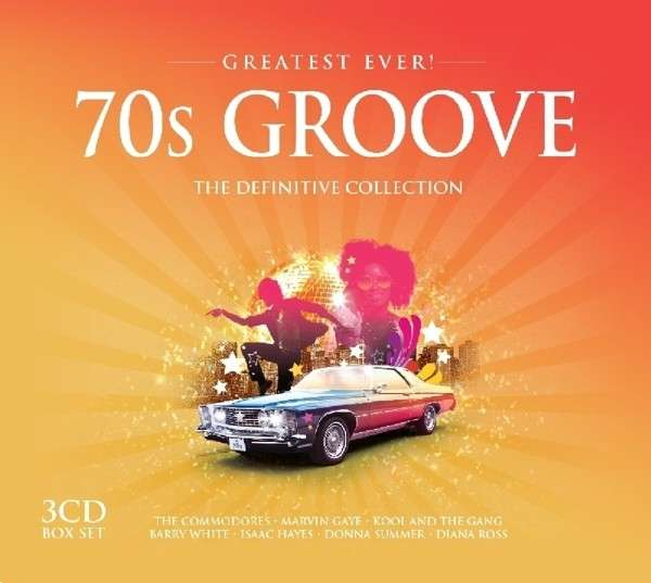 CD V/A - GREATEST EVER 70'S GROOVE