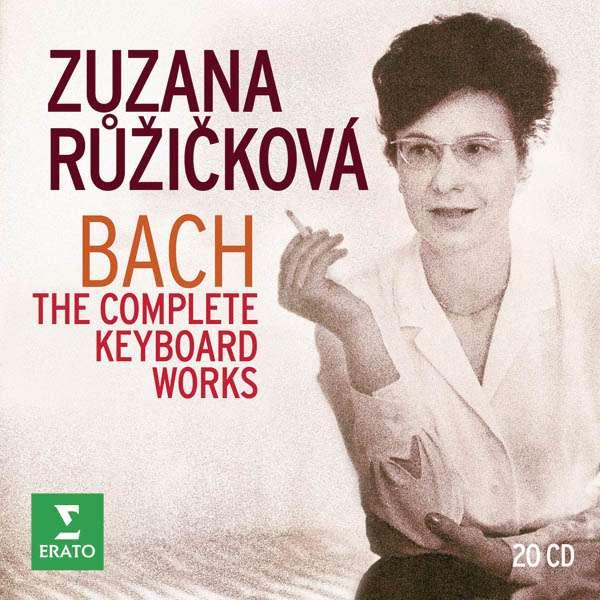CD RUZICKOVA, ZUZANA - BACH: THE COMPLETE KEYBOARD WORKS