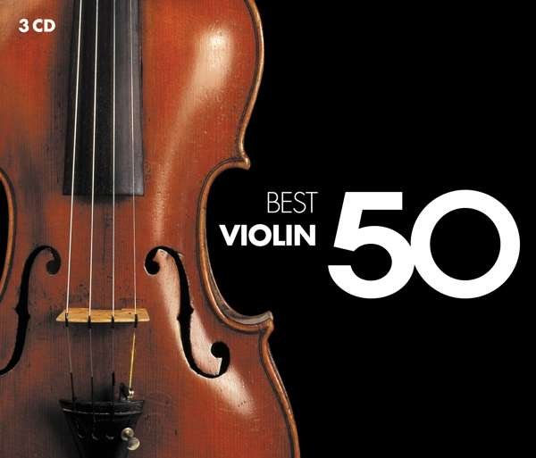 CD VARIOUS ARTISTS - 50 BEST VIOLIN