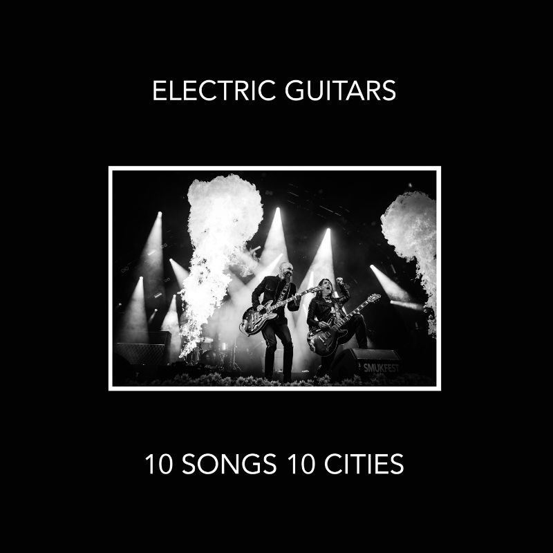 CD ELECTRIC GUITARS - 10 SONGS 10 CITIES