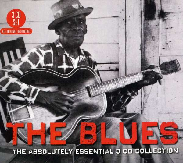 CD V/A - BLUES: THE ABSOLUTELY ESSENTIAL 3CD COLLECTION