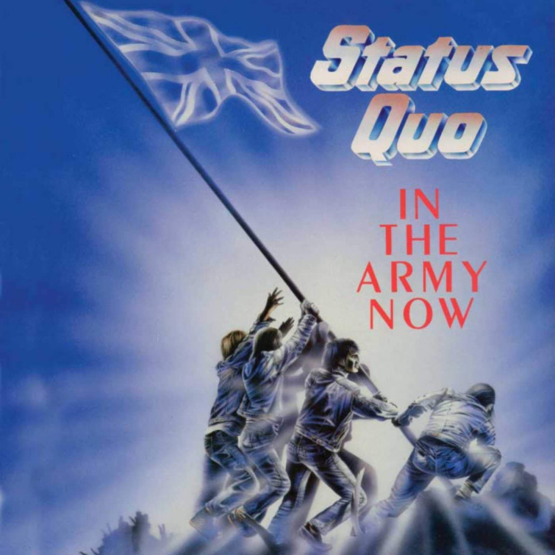 CD STATUS QUO - IN THE ARMY NOW/DELUXE